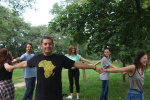 outdoor team building activities
