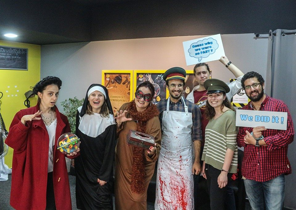 Escape Room game Prague