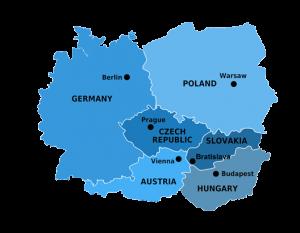 Çek Cumhuriyeti'nin Avrupa'daki konumu