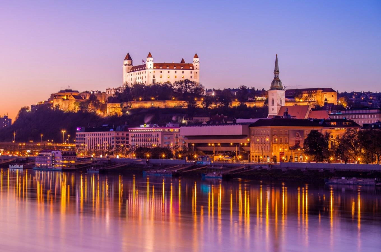Bratislava, the capital