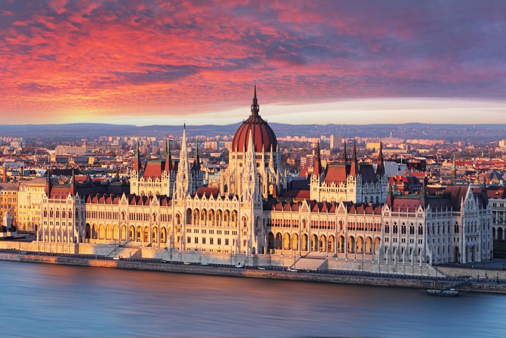 Budapest, the capital